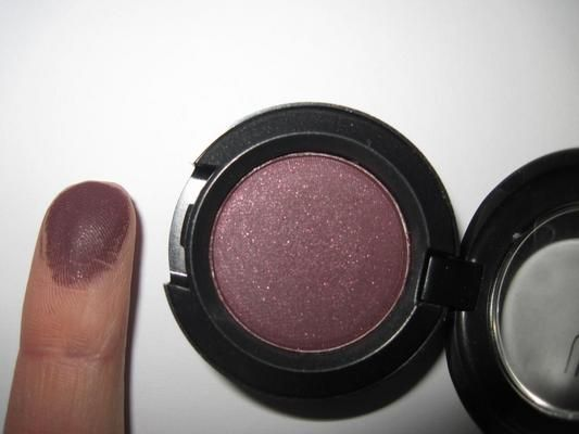 Mac Eye Shadow in Sketch. This color really brings out brown eyes for a glamorous glow.