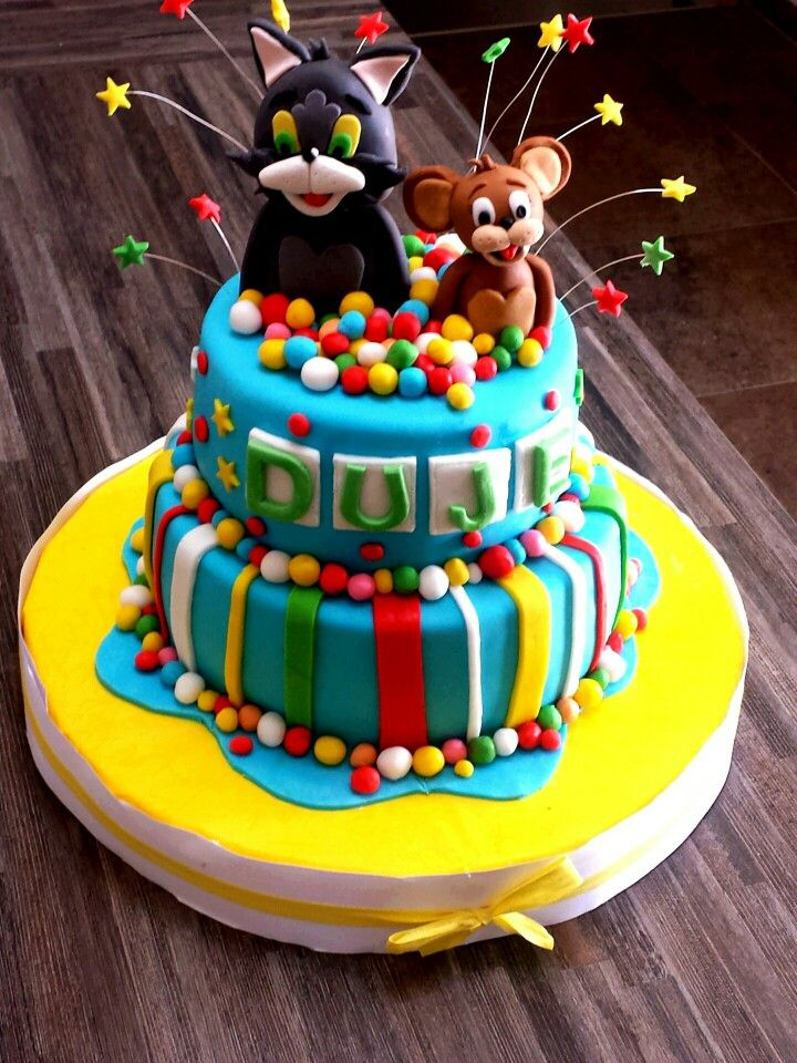 155 Best Images About Cakes Tom Amp Jerry On Pinterest