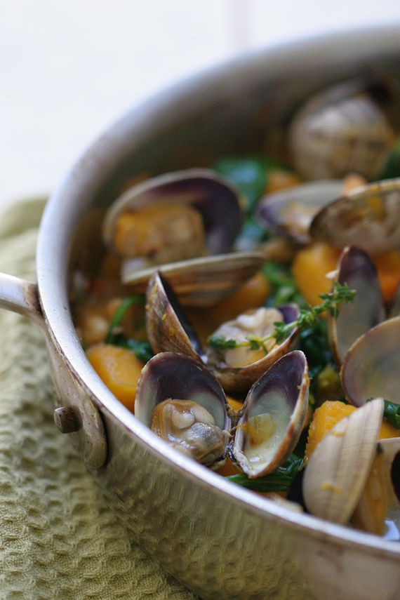Malata ~ A Delicious Dish From Mozambique Consisting of Clams, Butternut Squash…