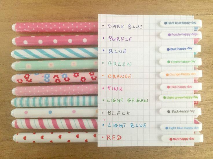 Penne colorate #etsy #cartoleria #planner #bulletjournal