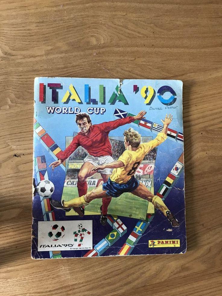 Italia 90 World Cup Sticker Album Panini Italy 1990 FIFA Complete UK Edition  | eBay