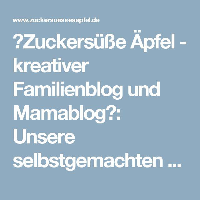 ♥Zuckersüße Äpfel - kreativer Familienblog und Mamablog♥: Unsere selbstgemachten Seifenblasen sind immer wieder ein großer Spaß...