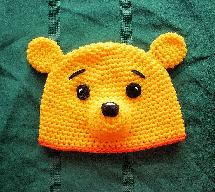 Crochet Pooh Bear Hat Pattern : 17 Best images about Disney cruise on Pinterest Disney ...