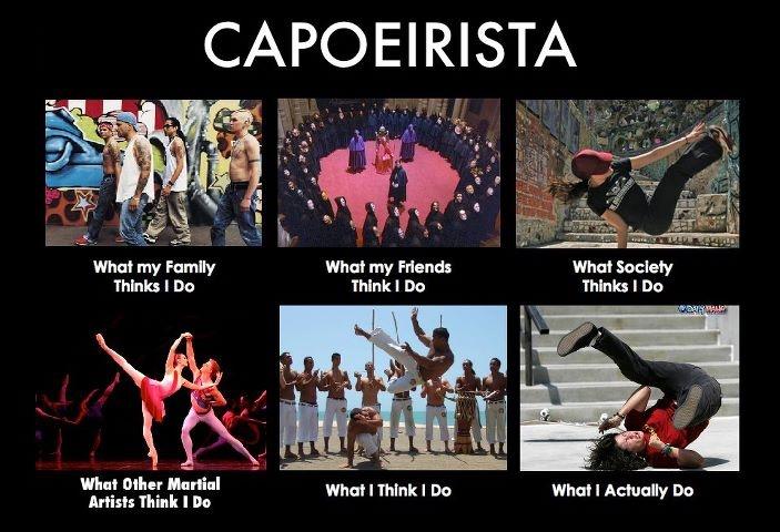 Capoeirista jajajajajaja