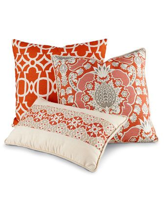 Caribbean-Inspired Outdoor Pillows - Horchow