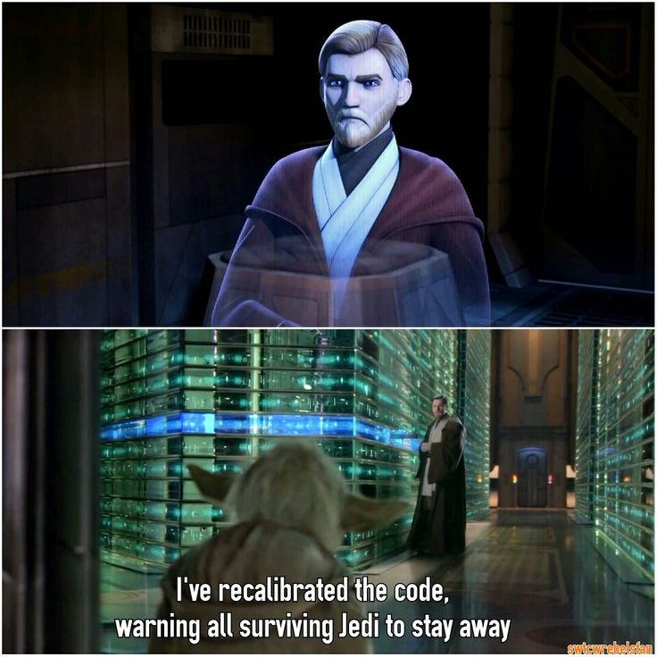 Obi-Wans last message