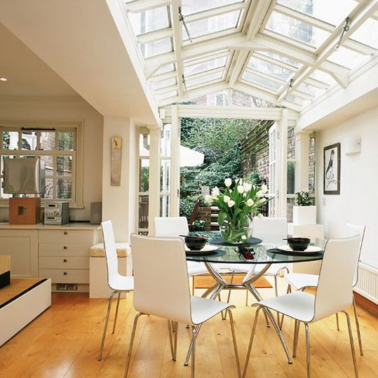 Conservatory Dining Ideas | Ideas for Home Garden Bedroom Kitchen - HomeIdeasMag.com