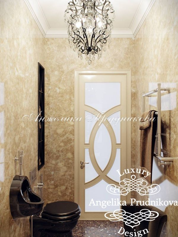 Дизайн интерьера квартиры в стиле Арт Деко в Звонарском переулке - фото
