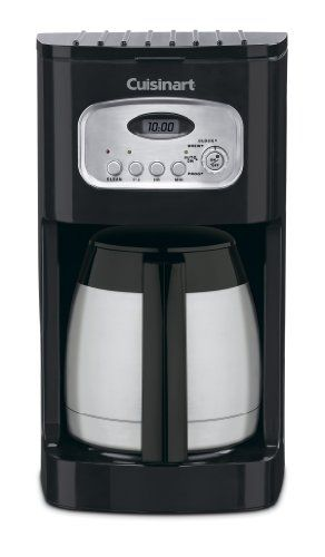 A nice addition to any modern kitchen, #this fully automatic #10-cup coffeemaker features 24-hour programmability--great for waking up to the aroma of freshly bre...