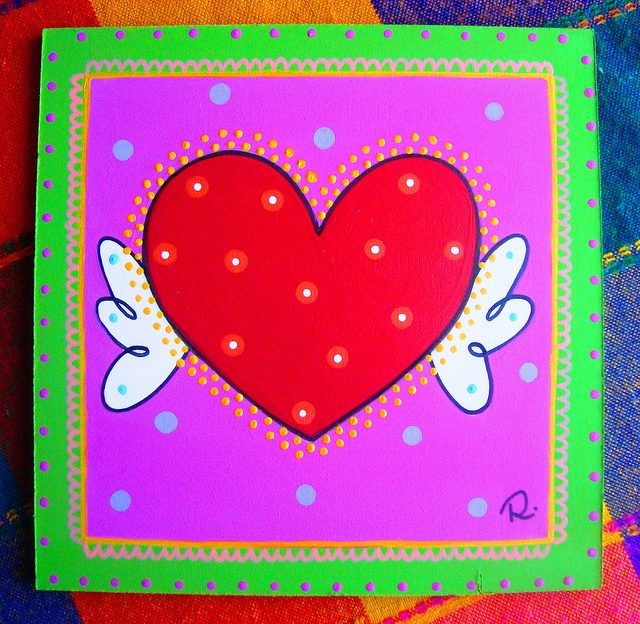 Corazón, corazoncito. by rebeca maltos, via Flickr