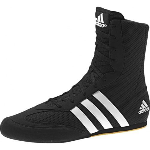 #Adidas box hog #boxing boots kids #adult - black,  View more on the LINK: 	http://www.zeppy.io/product/gb/2/151873699314/