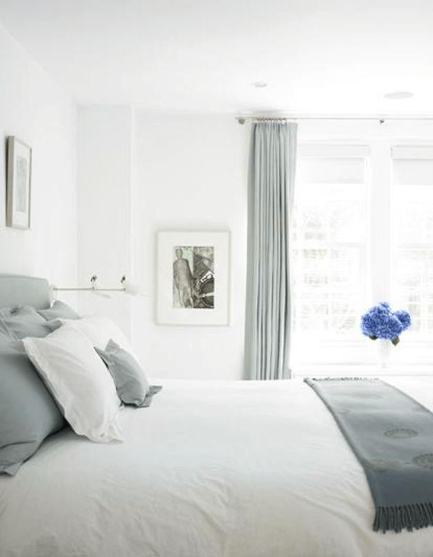 Wonderful PANTONE LITTLE BOY BLUE. White Bedroom ... Nice Look