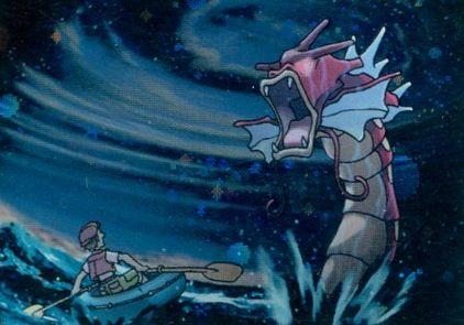 Shining Gyarados Pokemon Card Illustrations Pinterest