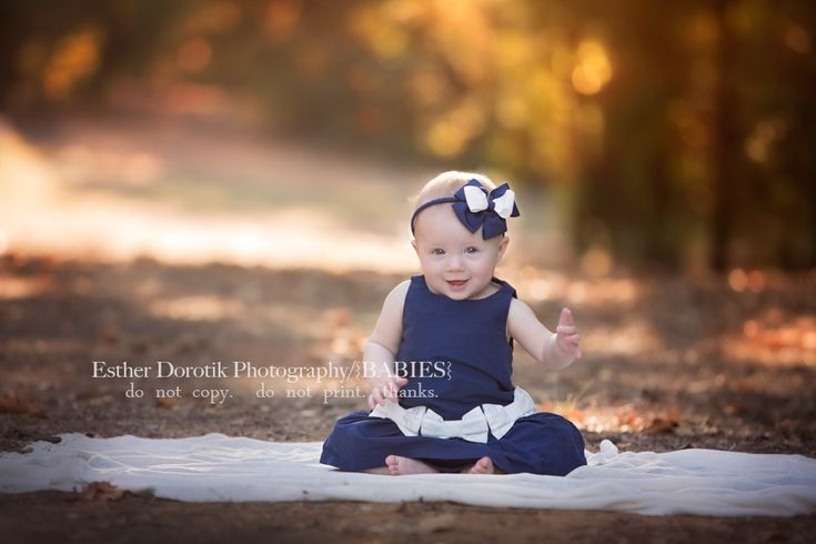 baby photography, 6 month pictures, milestone photos, baby girl photography, infant photography, outdoor baby pictures