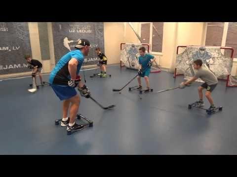 Off-Ice Hockey training: Stickhandling workout. - YouTube