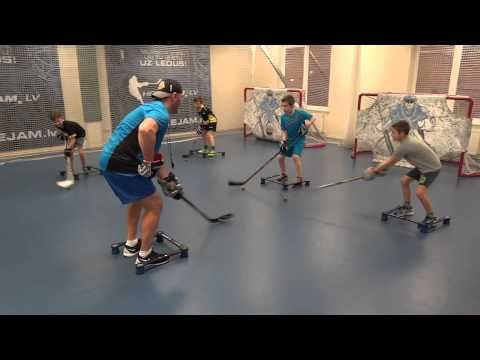 Off-Ice Hockey training: Stickhandling workout. - http://hockeyvideocenter.com/off-ice-hockey-training-stickhandling-workout/