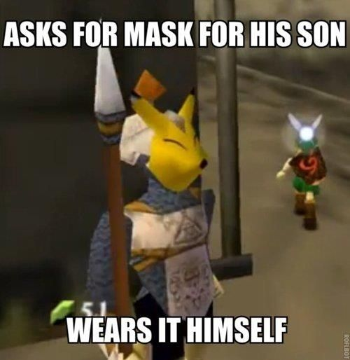 The Keatons in Ocarina of Time and Majora's Mask are likely references to the Japanese mythological creatures, the Kitsune. | 18 Things You Didn't Know About Popular N64 Games