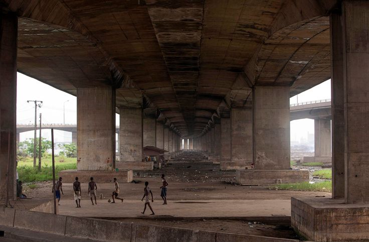 Street football in Africa: flyovers and floating schools - in pictures