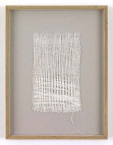 Sheila Hicks, Loosely Speaking, 1988. (Linen)