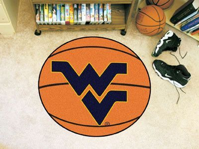 Basketball Mat - West Virginia University