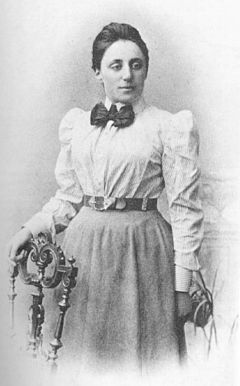 Emmy Noether (23 March 1882 – 14 April 1935), was an influential German mathematician known for her groundbreaking contributions to abstract algebra and theoretical physics. Described by Pavel Alexandrov, Albert Einstein, Jean Dieudonné, Hermann Weyl, Norbert Wiener and others as the most important woman in the history of mathematics, she revolutionized the theories of rings, fields, and algebras.
