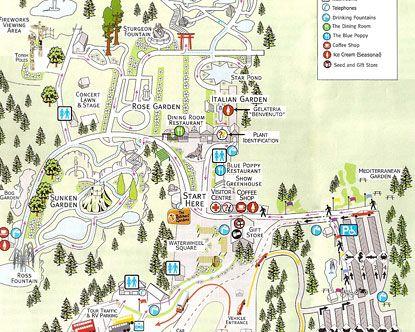 Exceptional Butchart Gardens, Vancouver Island, British Columbia, Canada   Gardens Map  | Amazing Botanical Gardens | Pinterest | Gardens