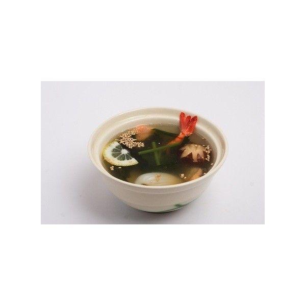 Мисо суп с морепродуктами и фрунчезой