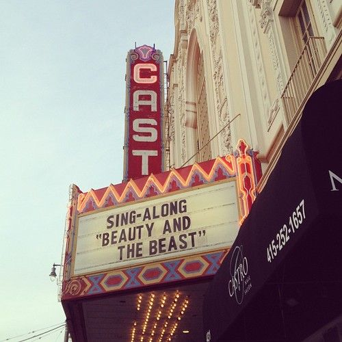 Sing-along at the Castro Theater...a must in SF! #castro #sanfrancisco #sf #singalong #disney #beautyandthebeast #mondayfunday #lifeinsf #sfbucketlist