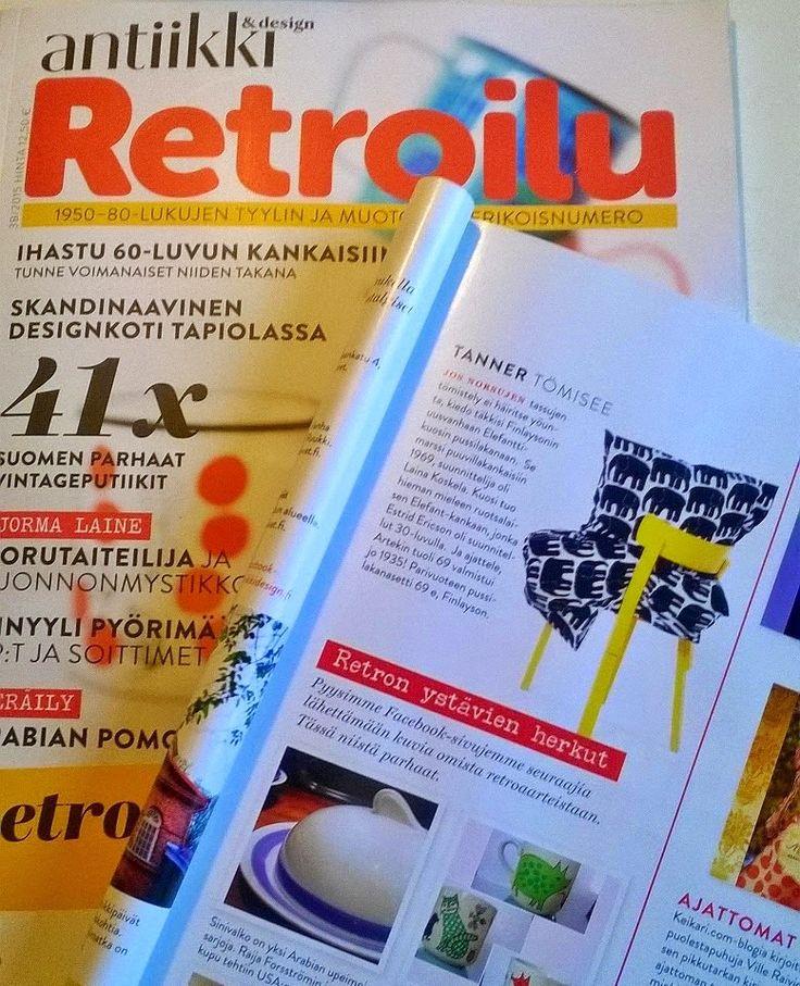 Elefantti was featured in Antiikki & design, 38/2015.