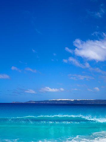 Beautiful turquoise ocean at Bremer Bay , Western Australia where I live. :)