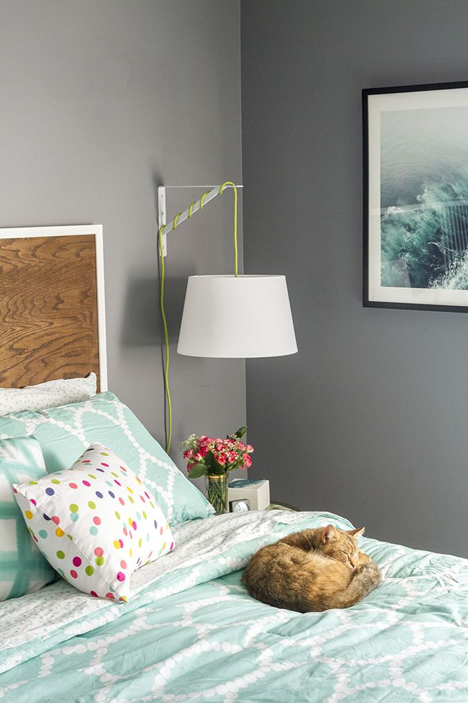 DIY IKEA Bedside Lamp | Dream Green DIY