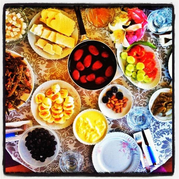 Ordu'da anne kahvaltisi @gulsenin