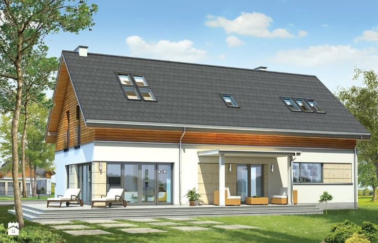Projekt domu Gala - Domy - Styl Nowoczesny - MG Projekt Pracownia Architektoniczna
