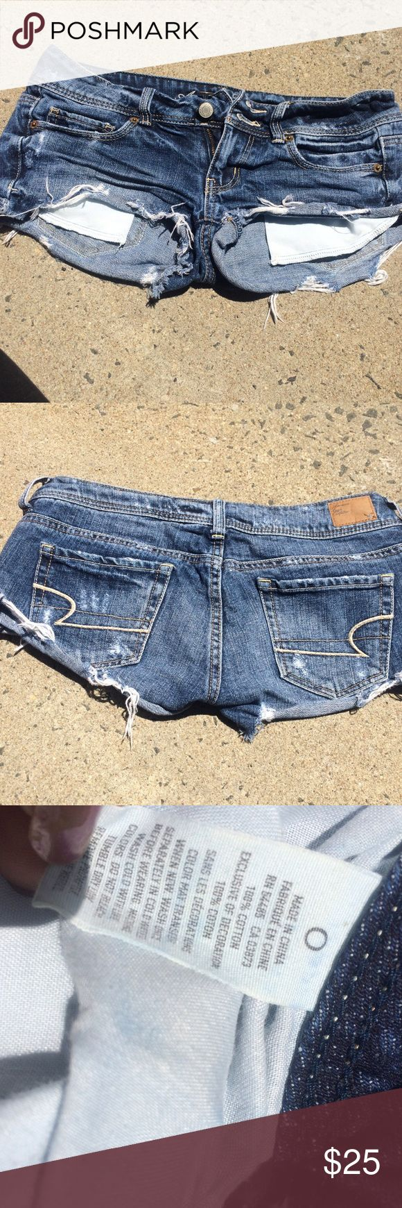 American Eagle Shorts❤️❤️❤️❤️ Jean blue American Eagle Outfitters Shorts Jean Shorts
