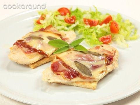 Scaloppe di pollo al prosciutto e provola affumicata: Ricette di Cookaround | Cookaround