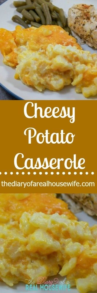 Cheesy Potato Casserole. My moms makes this for every gathering! I don't remember the last time we had it at a holiday or big gathering.