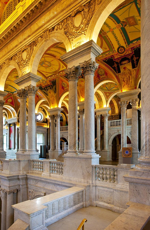 ✯ Library of Congress Said to be the most beautiful building in the whole nation.  I agree completely