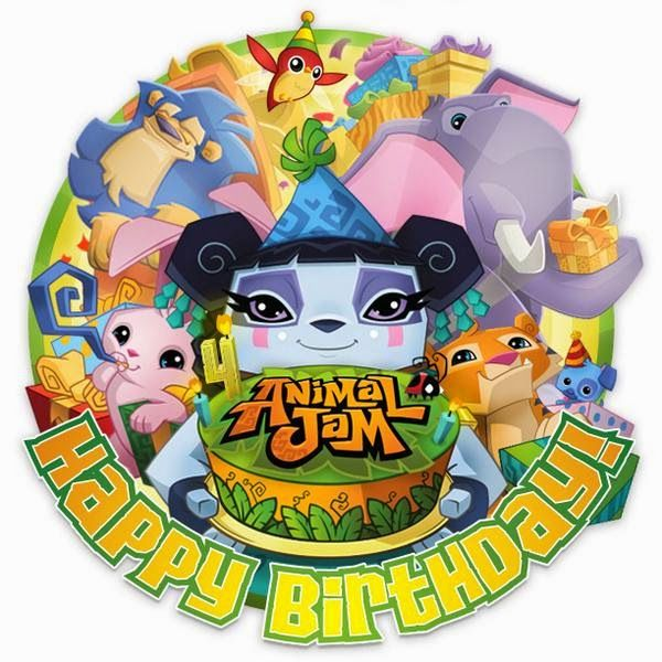 Animal Jam Spirit Blog: Happy Birthday Animal Jam + Greely Portrait