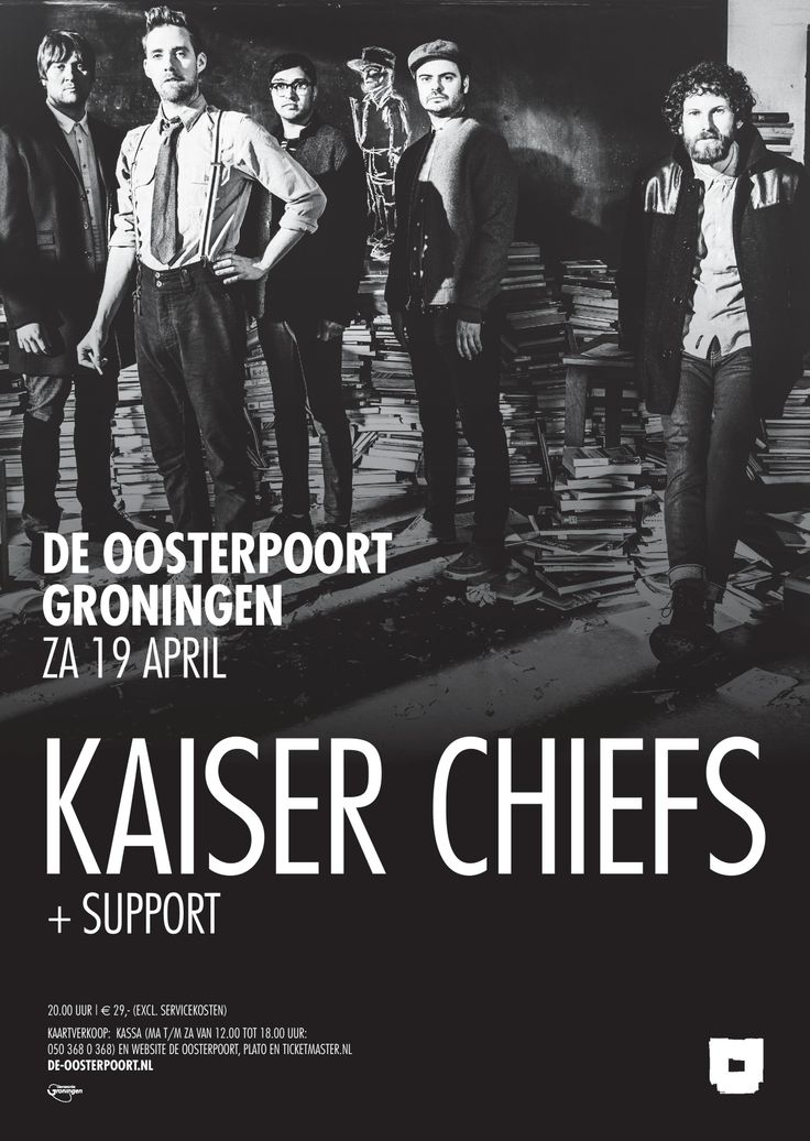 De Britse indierockband Kaiser Chiefs is weer helemaal terug. De Chiefs braken in 2005 door met debuutalbum 'Employment' en scoorden grote hits als 'I Predict a Riot', 'Ruby' en' Everyday I Love You Less and Less'. Nu maken ze zich op voor de release van album nummer vijf, 'Education Education Education & War', dat op 31 maart verschijnt.