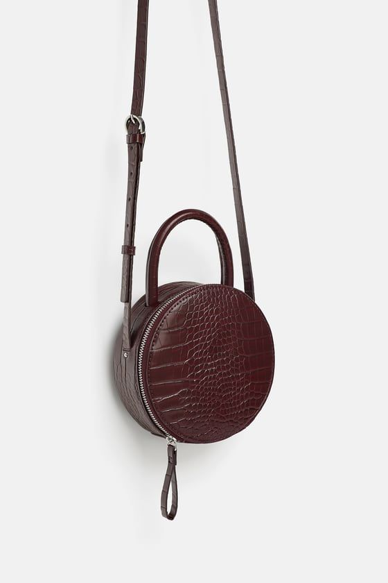 Image 6 of ROUND MINI CROSSBODY BAG from Zara   Little Things   Mini ... 65da3aad32