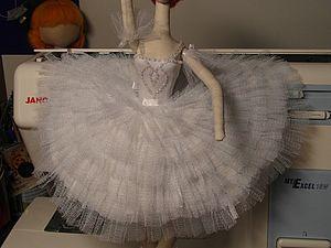 Ballerina Tilda - free pattern