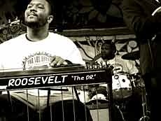 Roosevelt Collier plays with Ben Trout Band tonight at Martin's. Funky, funky pedal steel guitar man here.