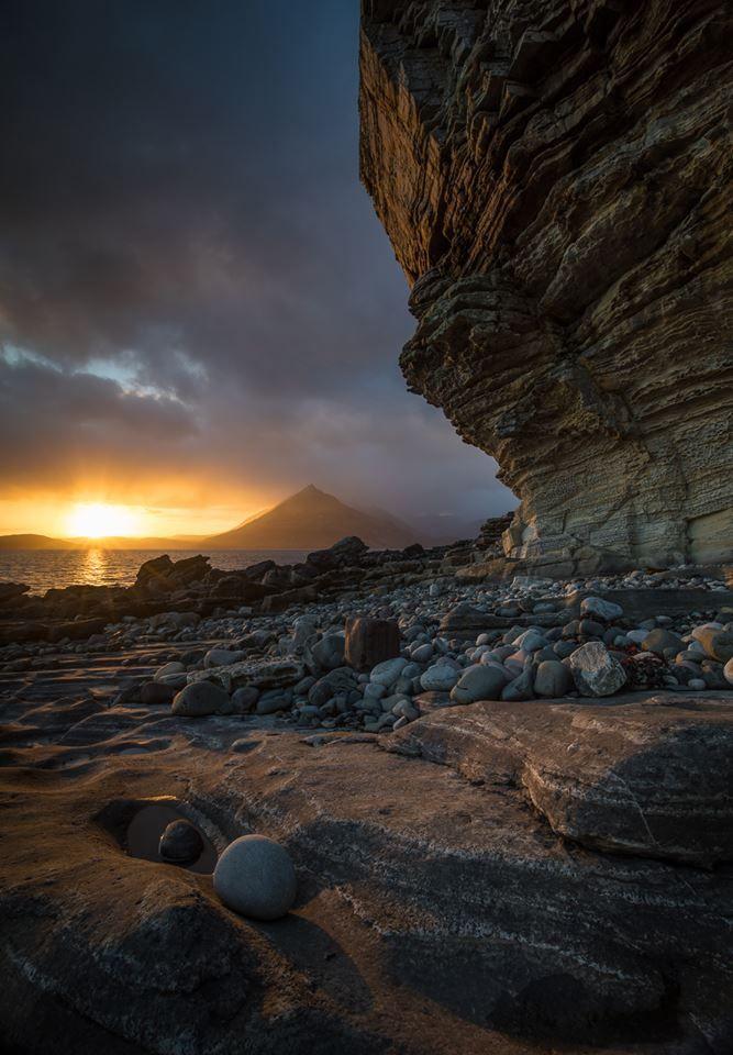 From Elgol in April, 2017, Isle of Skye, Scotland