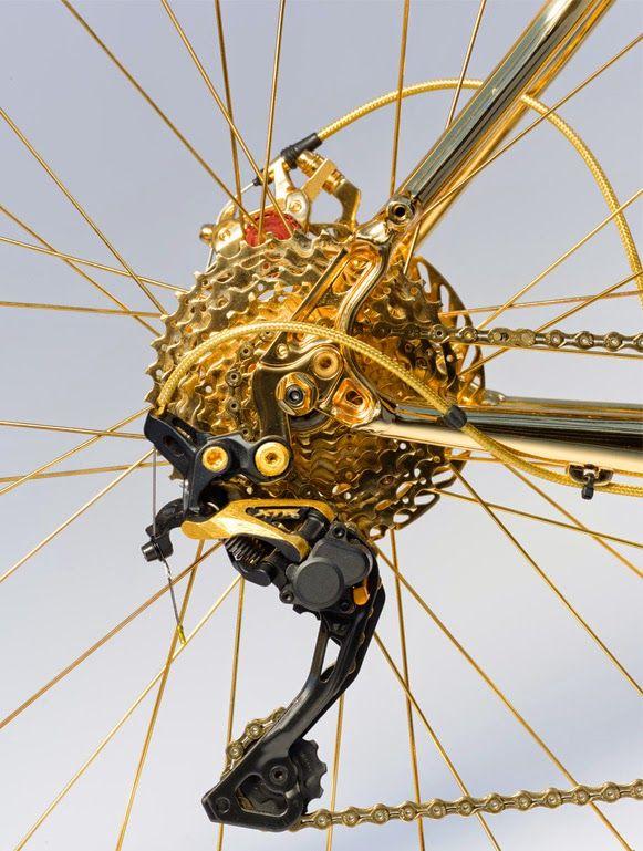 Bicicleta de 1 milhão de dólares