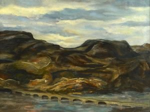 "Lot 649: Kermit Ewing ""Road to Grenada, Spain"" - Image 2"
