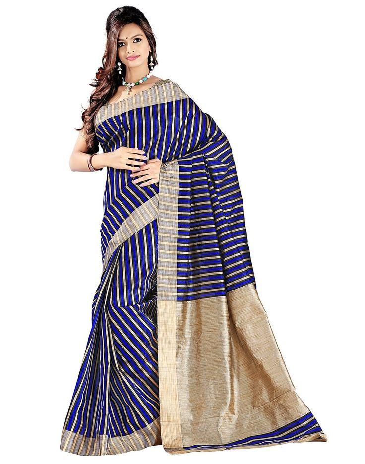 E-Vastram Women Cotton Silk Saree (3Pblue_1 _Blue _Free Size): #Amazon : #Clothing & Accessories  http://www.amazon.in/gp/product/B00W9YXOQM/ref=as_li_tl?ie=UTF8&camp=3626&creative=24822&creativeASIN=B00W9YXOQM&linkCode=as2&tag=onlishopind05-21  #Cotton #Silk #Sarees