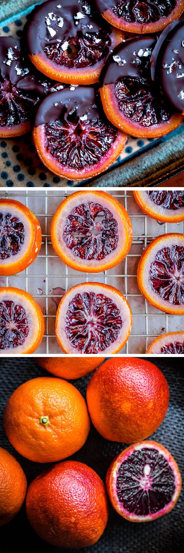how to make sugared fruit slices