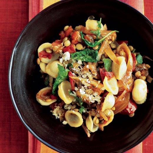 Pasta with Lentils and Arugula - Martha Stewart Recipes