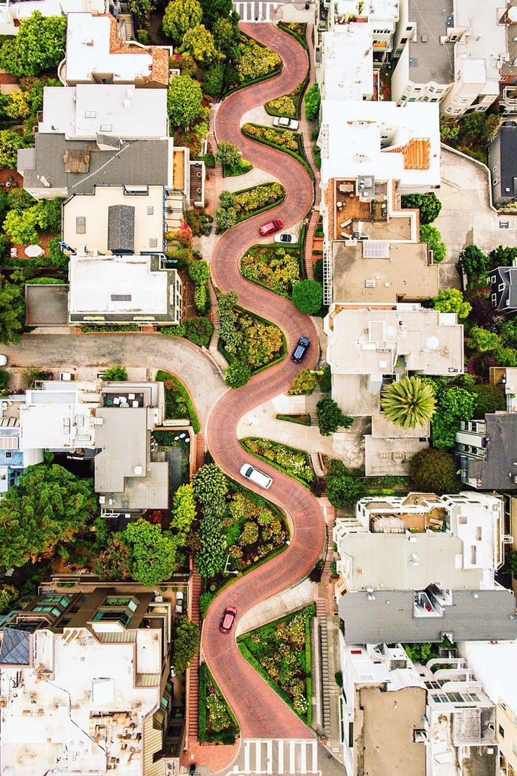 Lombard Street San Francisco California