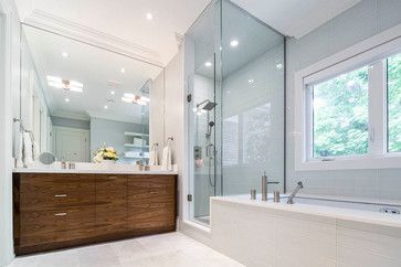 Lawrence Park Bathrooms - modern - Bathroom - Toronto - Cazan Design Group